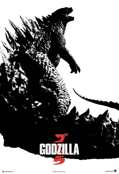 ハリウッド版ゴジラ 2014 ポスター